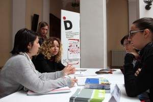 Un momento dell'open day