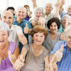 Large group of cheerful seniors showing thumbs up and looking at the camera. [url=http://www.istockphoto.com/search/lightbox/9786738][img]http://dl.dropbox.com/u/40117171/group.jpg[/img][/url]
